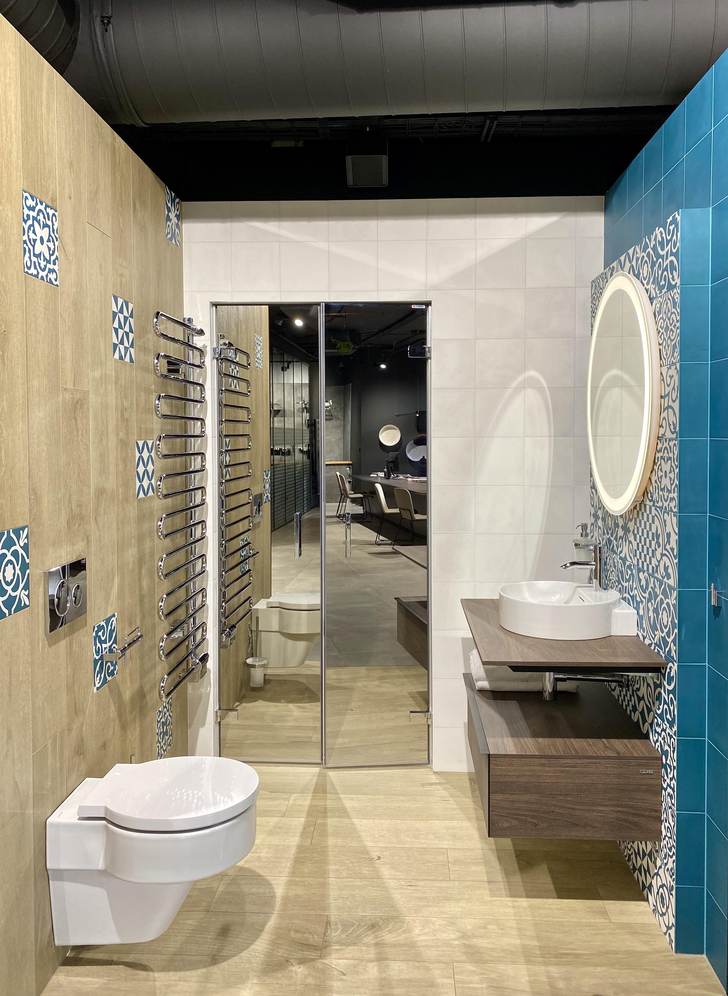 Mozaiková koupelna