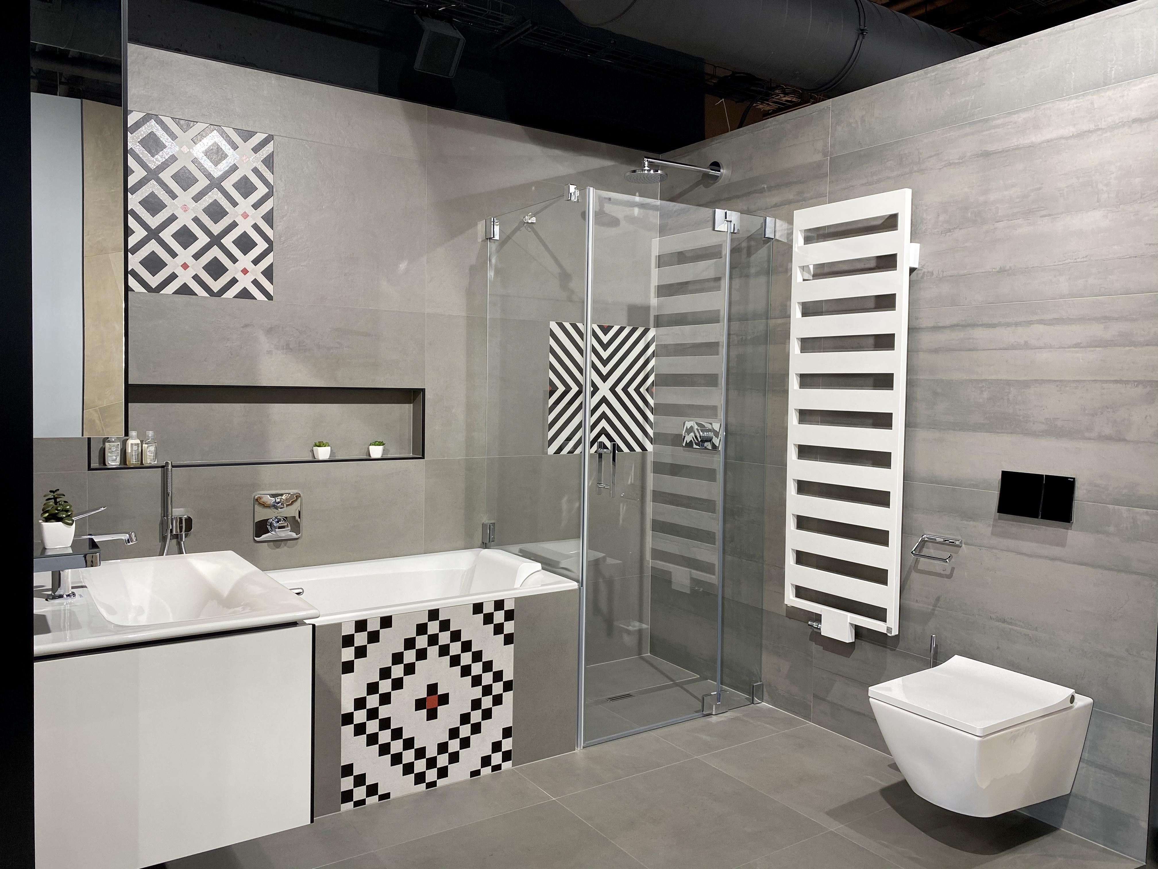 Eklekticka koupelna