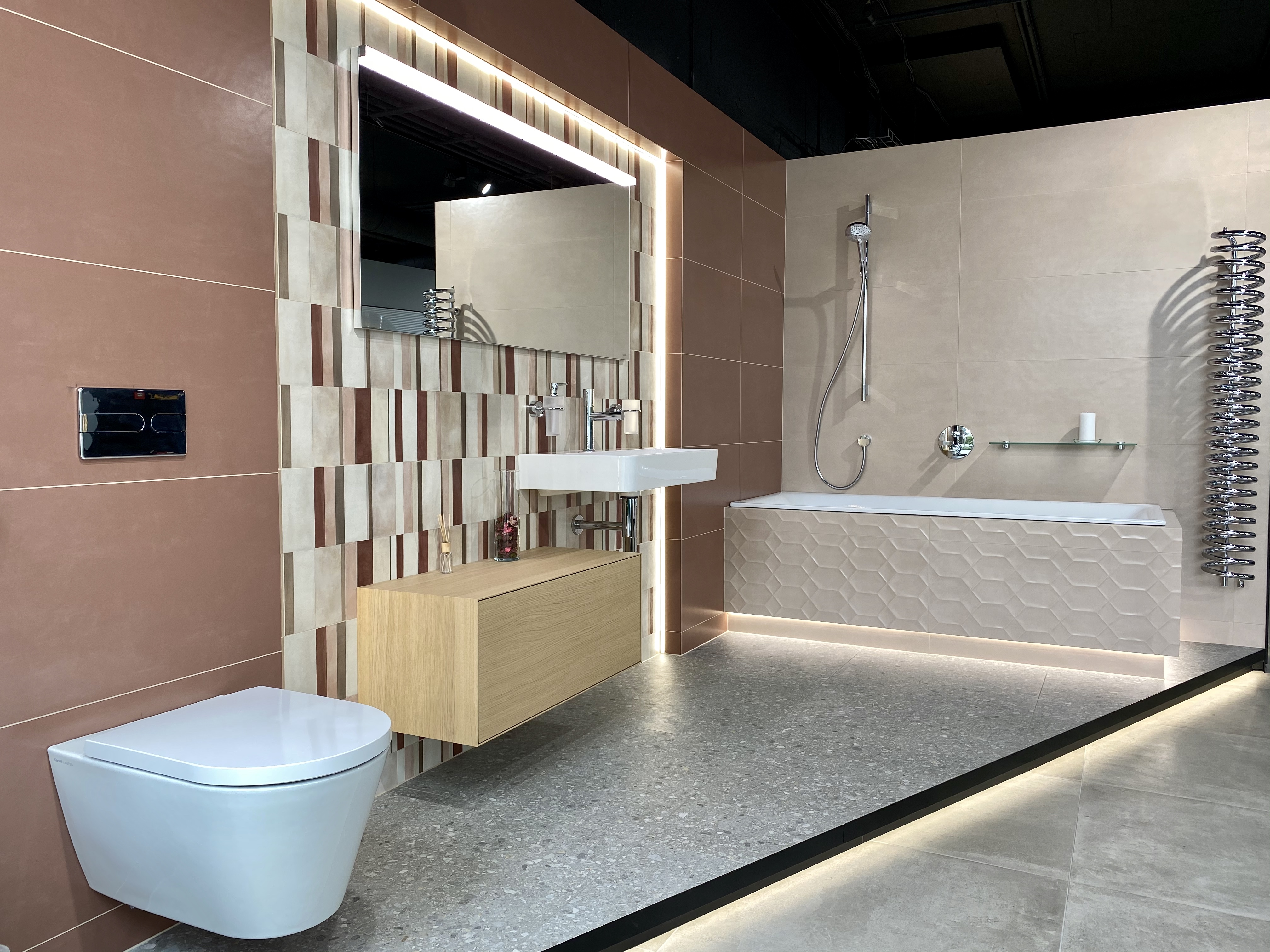 pudrová koupelna